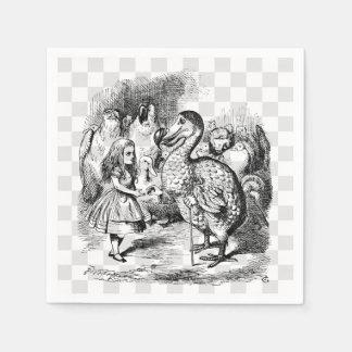 Guardanapo De Papel Alice e o Dodo