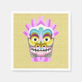 Guardanapo De Papel Aloha monstro engraçado da cabana de Tiki