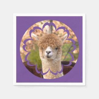 Guardanapo De Papel Aniversário da alpaca