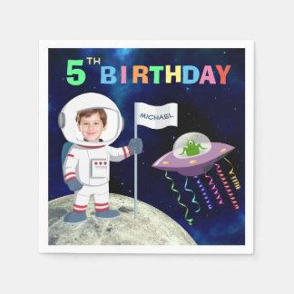 Guardanapo De Papel Aniversário feito sob encomenda do astronauta da