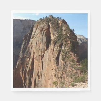Guardanapo De Papel Anjos que aterram no parque nacional de Zion