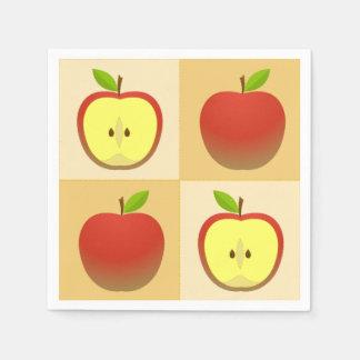 Guardanapo De Papel Apple e uma metade