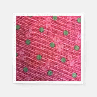 Guardanapo De Papel Arcos cor-de-rosa bonitos