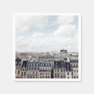 Guardanapo De Papel Arquitectura da cidade de Paris France