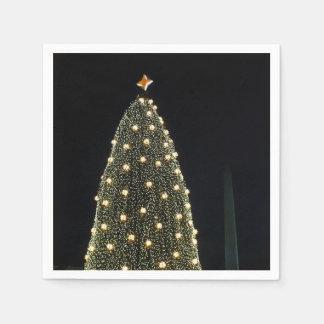 Guardanapo De Papel Árvore do Xmas & monumento de Washington nacionais