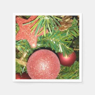 Guardanapo De Papel Árvore e enfeites de natal de Natal