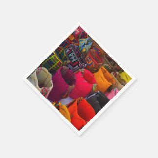 Guardanapo De Papel As bolsas dos mochilas de Wayuu para a venda em