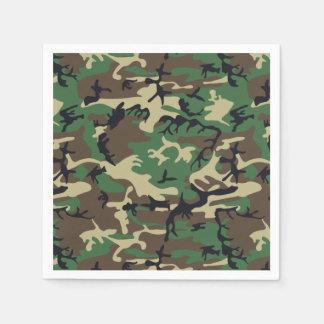 Guardanapo De Papel As forças armadas camuflam