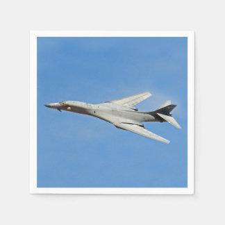 Guardanapo De Papel Asas do bombardeiro do lanceiro de B-1B varridas
