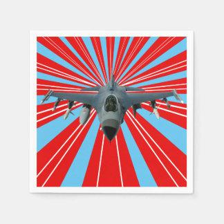 Guardanapo De Papel Avião de combate