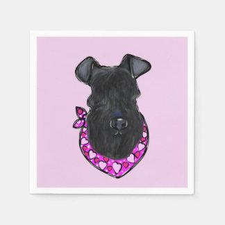 Guardanapo De Papel Azul de Kerry Terrier