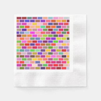 Guardanapo De Papel Azulejos coloridos