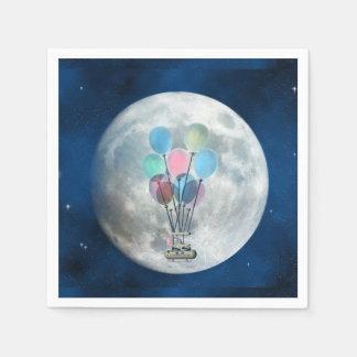Guardanapo De Papel Balão de ar de Steampunk_Hot