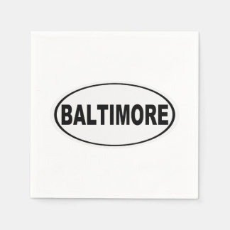 Guardanapo De Papel Baltimore Maryland