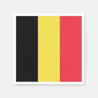 Guardanapo De Papel Bandeira belga patriótica