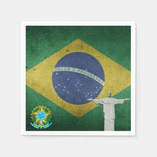 Guardanapo De Papel Bandeira brasileira