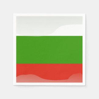 Guardanapo De Papel bandeira búlgara