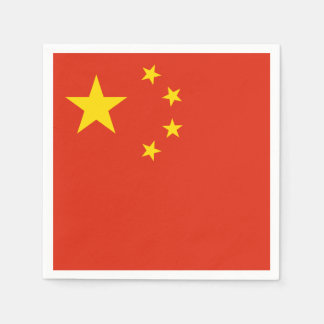 Guardanapo De Papel Bandeira chinesa patriótica