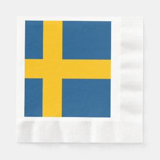 Guardanapo De Papel Bandeira da suecia