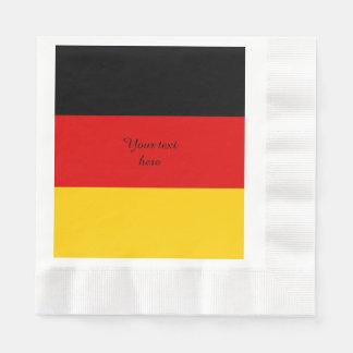 Guardanapo De Papel Bandeira de Alemanha ou da alemanha