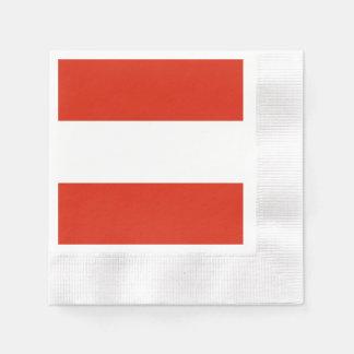 Guardanapo De Papel Bandeira de Áustria