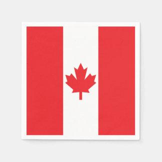 Guardanapo De Papel Bandeira de Canadá
