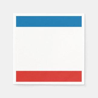 Guardanapo De Papel Bandeira de Crimeia