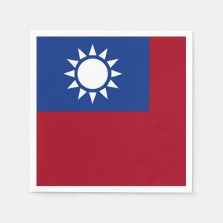 Guardanapo De Papel Bandeira de Formosa a República da China