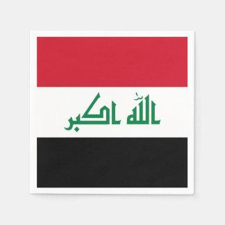 Guardanapo De Papel Bandeira de Iraque