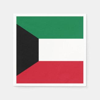 Guardanapo De Papel Bandeira de Kuwait