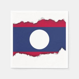 Guardanapo De Papel Bandeira de Laos