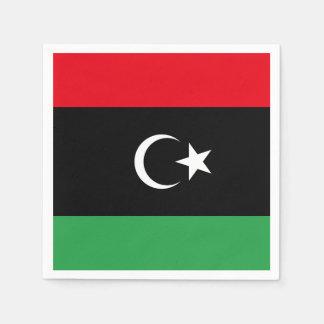 Guardanapo De Papel Bandeira de Líbia