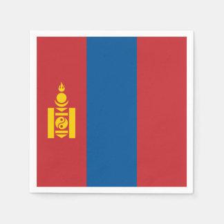 Guardanapo De Papel Bandeira de Mongolia