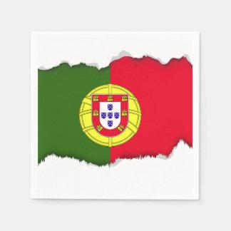 Guardanapo De Papel Bandeira de Portugal