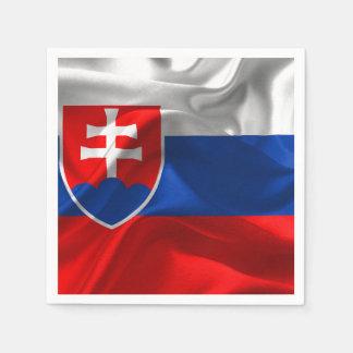 Guardanapo De Papel Bandeira de Slovakia