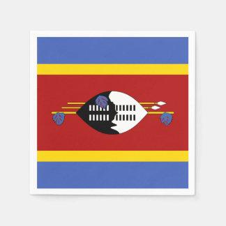 Guardanapo De Papel Bandeira de Suazilândia