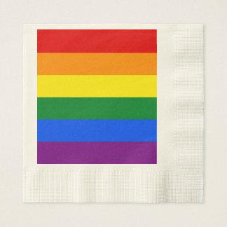 Guardanapo De Papel Bandeira do arco-íris