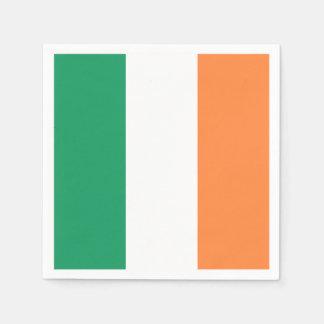 Guardanapo De Papel Bandeira irlandesa: Partido Tricolor do dia de