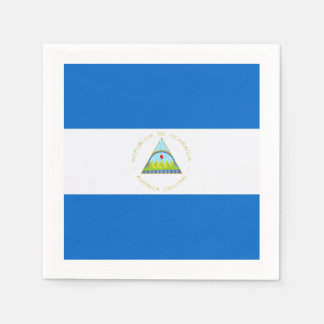 Guardanapo De Papel Bandeira: Nicarágua