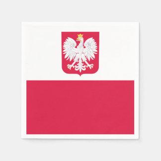Guardanapo De Papel Bandeira polonesa