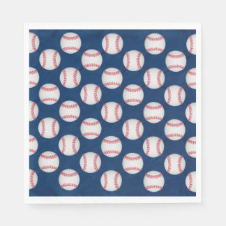 Guardanapo De Papel Basebol & bandeira americana