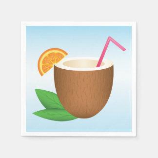 Guardanapo De Papel Bebida tropical do coco