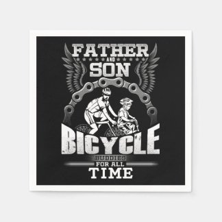 Guardanapo De Papel Bicicleta do filho do pai