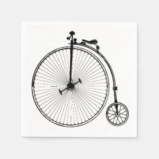 Guardanapo De Papel Bicicleta do vintage