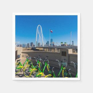 Guardanapo De Papel Bicicletas e Dallas