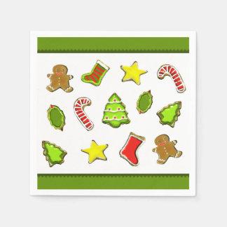 Guardanapo De Papel Biscoitos do Natal