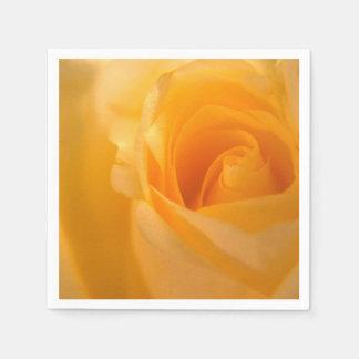 Guardanapo De Papel Botão elegante do rosa amarelo
