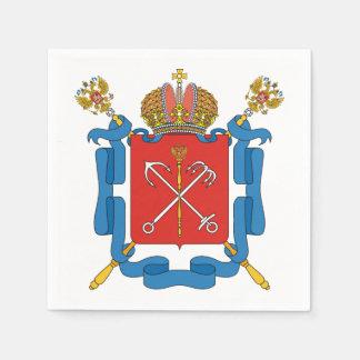 Guardanapo De Papel Brasão de St Petersburg