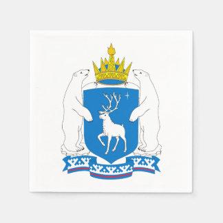 Guardanapo De Papel Brasão de Yamal-Nenetsia