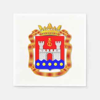 Guardanapo De Papel Brasão do oblast de Kaliningrad